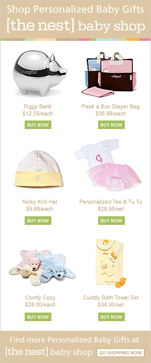 Shop Personalized Baby Gifts at The Nest Baby Shop